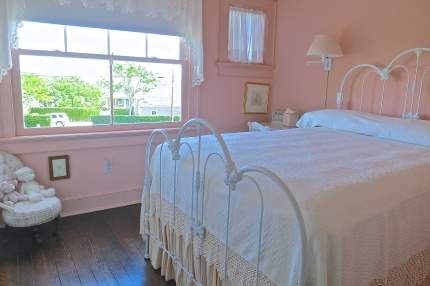 Pretty In Pink Guest Bedroom