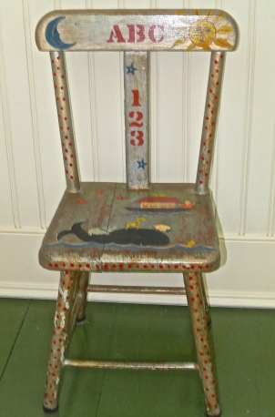 Hand Painted Children's Chair