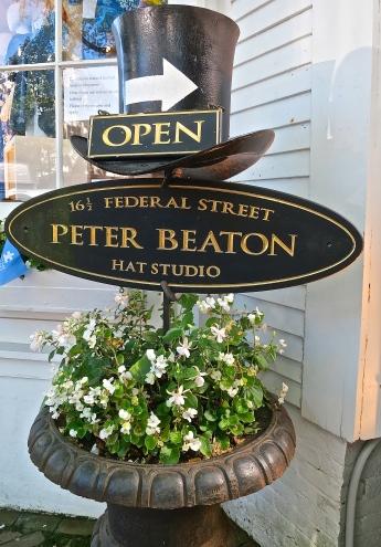 Hat Shop Sign