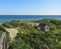 The Beaches Are Edged With Sand Dunes And Sea Oats