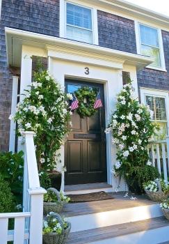 Welcoming Nantucket Front Door