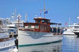 Yachts Docked At The Marina