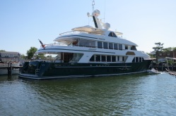 142 Ft. ShadowL Is One Of The Largest Yachts In The Basin