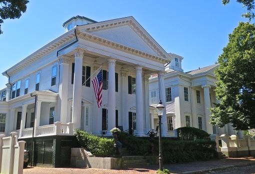 Hadwen-Wright House On Main Street, Nantucket