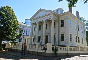 Former Mansion Of Wm. Hadwen, A Wealthy Whale Oil Merchant