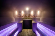 Steam Bath In The Spa At Wellnesshotel Gmachl, Bergheim, Austria