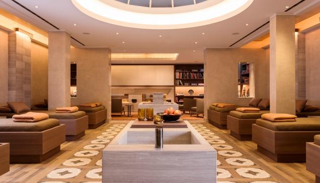 The Spa's Lounge Area