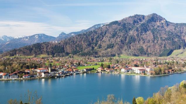 Seehotel Überfarht In The Town Of Rottach-Egern On Lake Tegernsee