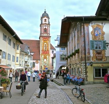 Pedestrian Center Of Mittenwald