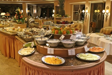 Part Of The Morning Breakfast Buffet