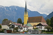 The Picturesque Town Of Rotttach-Egern, Germany