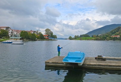Seehotel Überfahrt Lies On The Banks Of Lake Tegernsee