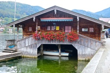 Boathouse On Lake Tegernsee, Germany