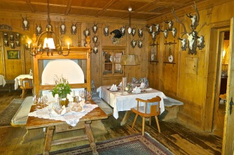 One Of Schalber's Traditional Dining Rooms