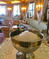 Champagne On Ice Waiting To Great New Guests Arriving At Schalber