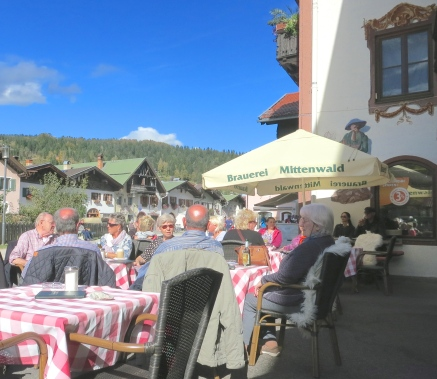 Enjoy A Locally Brewed Beer At An Outdoor Cafe