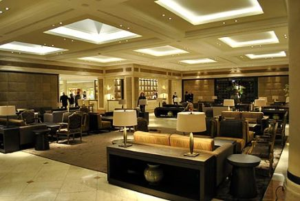 Contemporary Lobby Of Seehotel Überfarht