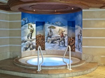 The Whirlpool In The Indoor Pool Room