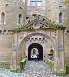 Entrance To Schloss Neuenstein