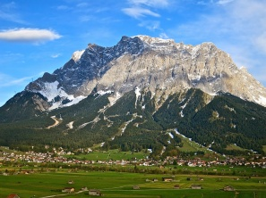 View Of The Zugspitze From Our Balcony