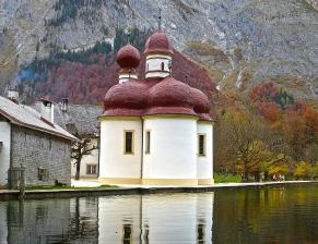 St. Bartholomew's church on Lake Königssee