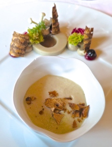 Cold And Warm Amuse Bouches Of Mushrooms