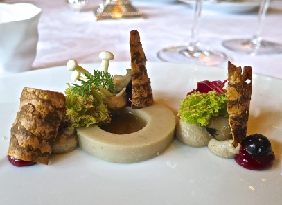The Amuse Bouche Reminds You Of The Many Mushrooms Growing In The Black Forest