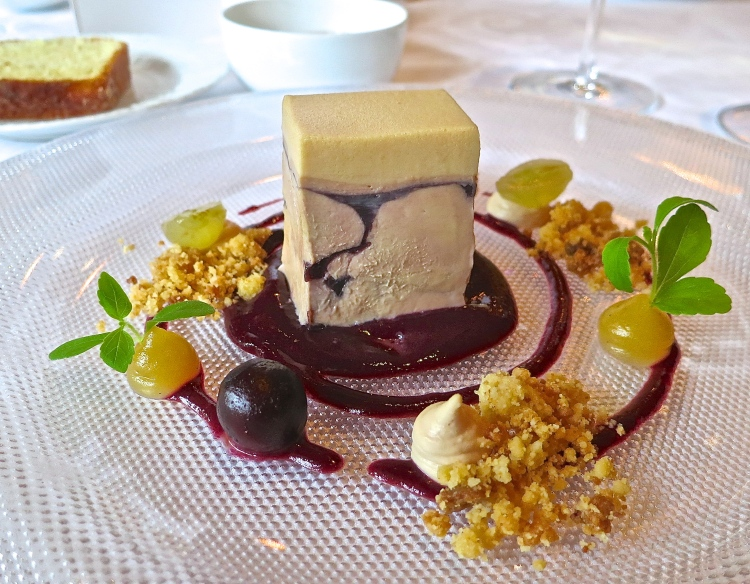 Assorted Goose Foie Gras With Fragolino Grapes And Salted Caramel