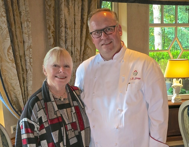 It Was A Pleasure Meeting Chef Claus-Peter Lumpp