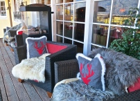 A Cosy Chair On The Terrace