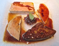 My Husband Substituted Foie Gras Four Ways For The Guinea Fowl
