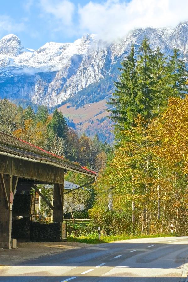 Alpine Road Outside Berchtesgaden