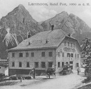Old Photo Of The Post Hotel
