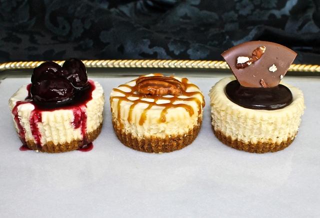 Mini Cheesecakes, A Decedent Bite Of Deliciousness