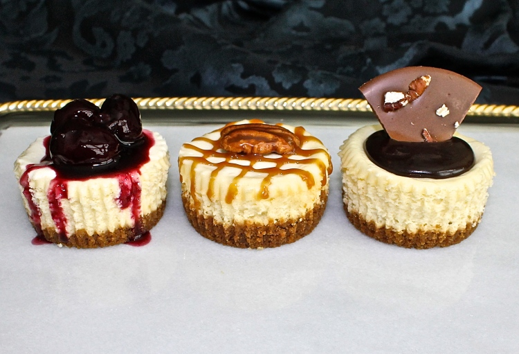 Mini Cheesecakes, A Decedent Bite Of Deliciousness