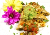 Roasted Corn And Caramelized Onion Quesadilla