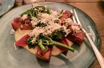 Pork Belly, Horseradish, Wild Broccoli
