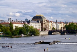 National Theater From Charles Bridge