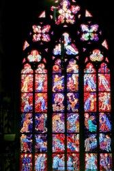 St. Vitus Stain Glass Window