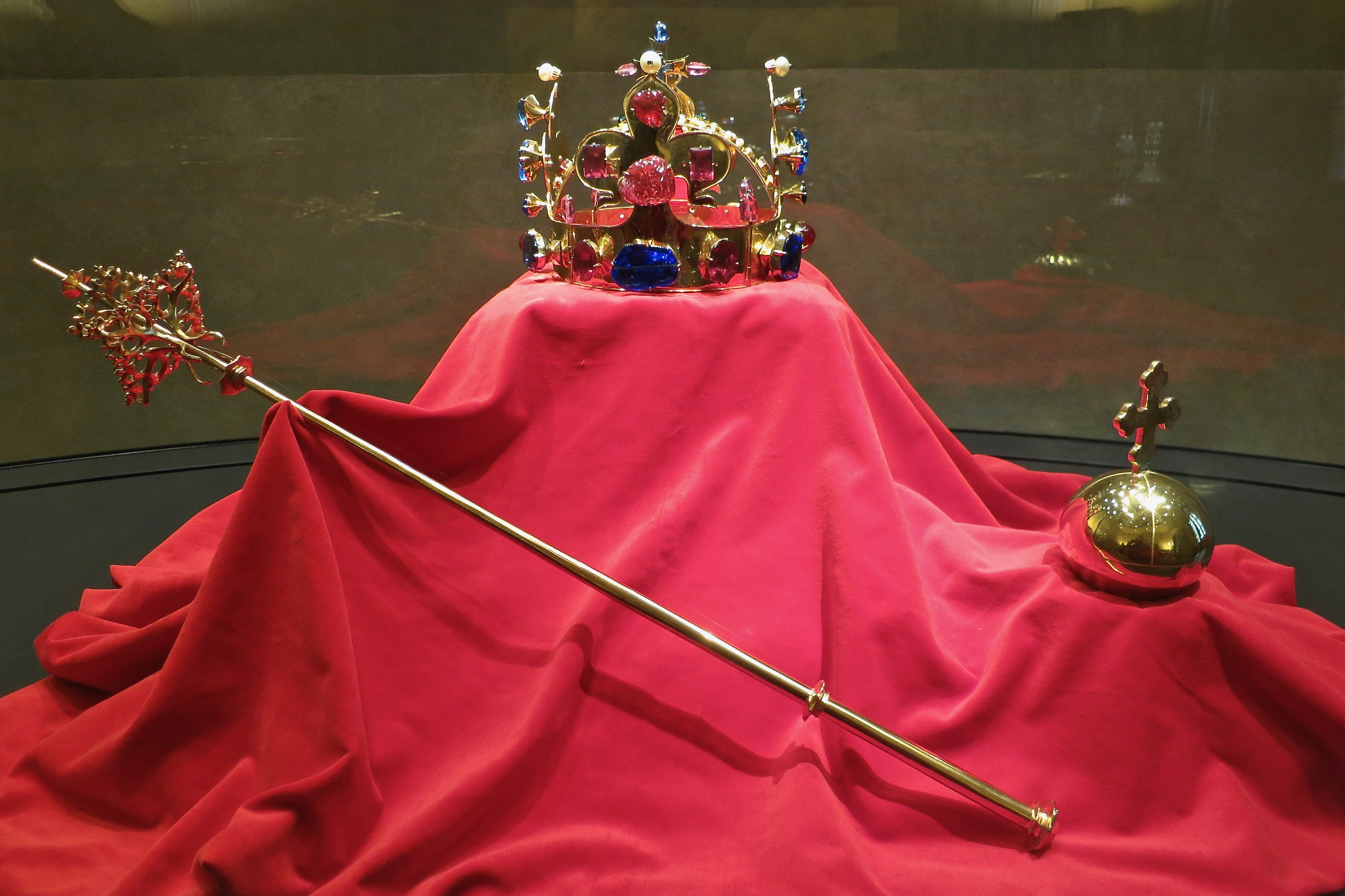 copy of the Crown Jewels in old Prauge Royal Palace