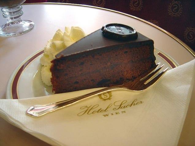 Sachertorte, Vienna's Famous Chocolate Cake