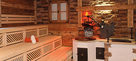 One Of The Saunas At Jagdhof