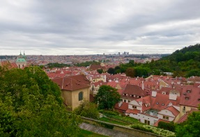 View From Prague Castle Ramparts