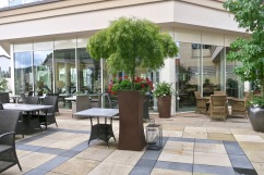 Jagdhof Outdoor Dining Terrace
