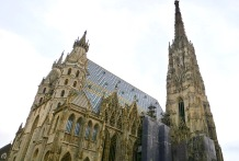 The Striking Roof Design Of Stephansdom Cathedral