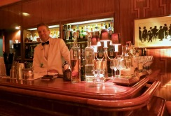 Just Waiting To Make You The Perfect Cocktail At The American Bar
