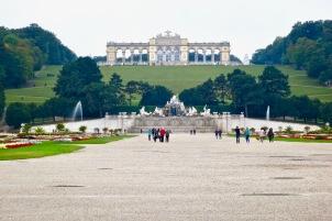 The Gloriette Schoenbrunn Palace