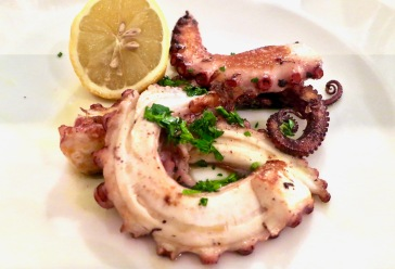 Grilled Octopus Polipo all'amalfitana