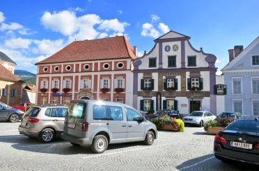 Pollau Market Square With Town Hall