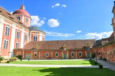 Interior Courtyard Schloss Pollau